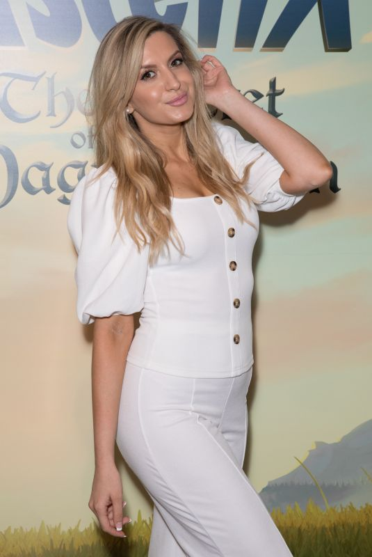 Victoria Brown Attends Asterix the Secret of the Magic Potion screening at VUE, Leicester Square