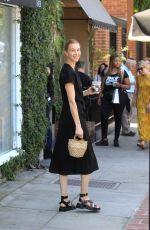 Whitney Port Leaving lunch on Melrose Place in West Hollywood