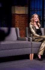 Yvonne Strahovski At Late Night with Seth Meyers