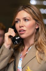 Abbey Clancy At BGC Annual Global Charity Day in London