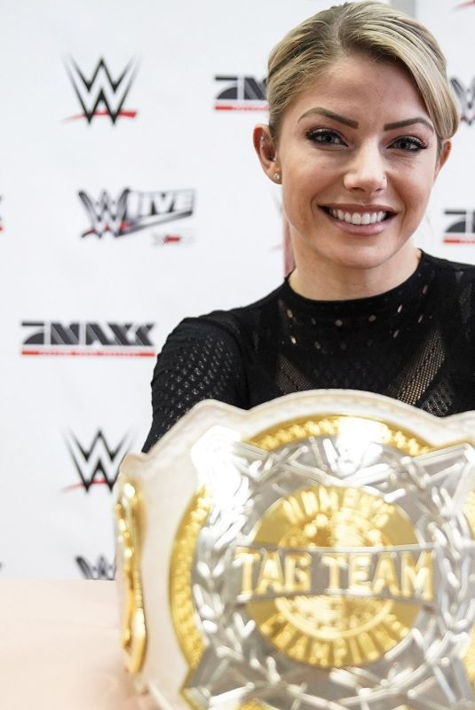 Alexa Bliss At WWE promo tour in Germany