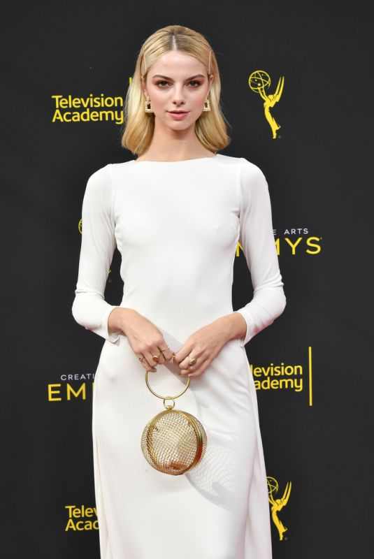 Allie Marie Evans At 2019 Creative Arts Emmy Awards in Los Angeles