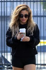 Ally Brooke Outside Dancing With The Stars rehearsal studios in Los Angeles
