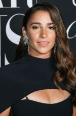 Aly Raisman At Harper