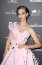 Amanda Seyfried At Jaeger-LaCoultre Gala Dinner during 76th Venice Film Festival in Italy