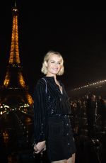 Amber Valletta Attends the Saint Laurent Womenswear Spring/Summer 2020 show as part of Paris Fashion Week