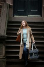 Amy Adams Filming The Woman In The Window in New York City