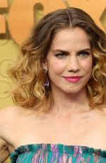 Anna Chlumsky At 71st Annual Primetime Emmy Awards, Microsoft Theatre, Los Angeles