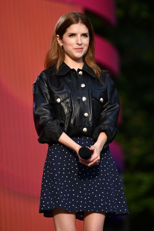 Anna Kendrick At Global Citizen Festival in NYC