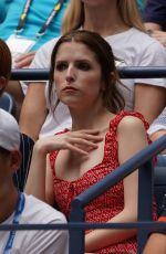 Anna Kendrick & Brittany Snow At 2019 US Open in NY