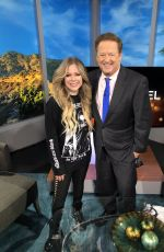 Avril Lavigne At KTLA 5 Morning News in LA