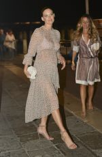 Bar Refaeli Out in Venice, Italy