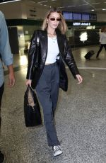 Bella Hadid Arriving for MFW Spring/Summer 2020 in Milan