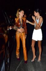 Bella Hadid & Kendall Jenner At Dinner at Carbone and head over to Avenue Nightclub in NY