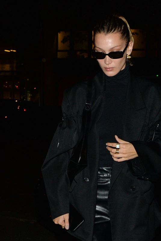 Bella Hadid Out in Paris France