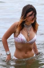Bella Thorne In bikini at the beach in Miami