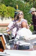 Brit Marling Arriving at the 76th Venice Film Festival in Venice, Italy