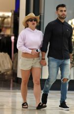 Britney Spears At a mall in LA