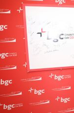 Brooks Nader At Cantor Fitzgerald, BGC and GFI Annual Charity Day in NYC