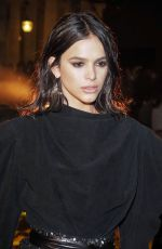 Bruna Marquezine At Isabel Marant Show at Paris Fashion Week