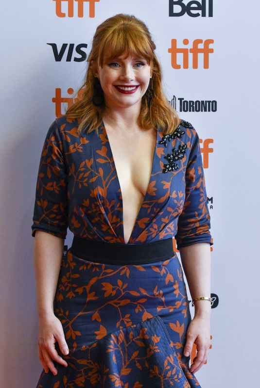 Bryce Dallas Howard At Dads premiere in Toronto