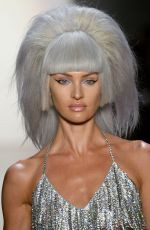 Candice Swanepoel Walks the runway for Jeremy Scott during NYFW in NYC