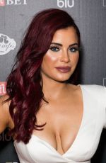 Carla Howe Attends the Ultimate Boxxer 5 at Indigo at The O2 in London