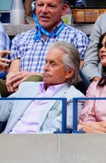 Catherine Zeta-Jones At 2019 US Open Men