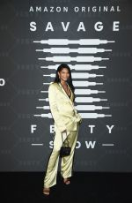 Chanel Iman At Savage X Fenty Show in Brooklyn