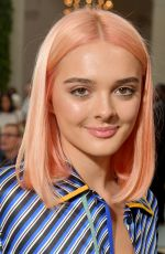 Charlotte Lawrence At Tory Burch Fashion Show in NYC