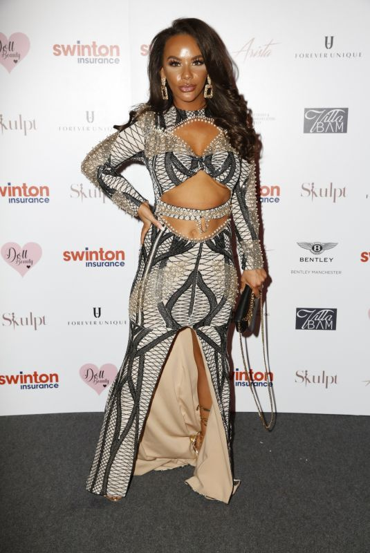 Chelsee Healey Pictured while arriving at The Creme Charity Ball in Cheshire