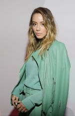 Chloe Bennet At Boss Fashion Show in Milan
