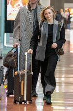 Chloe Grace Moretz At Charles-de-Gaulle airport in Paris, France