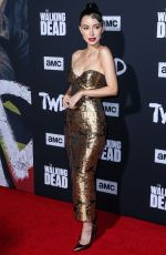Christian Serratos At Special Screening of The Walking Dead Season 10 in Hollywood