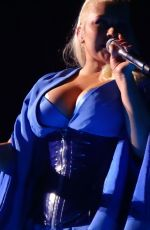 Christina Aguilera At The Zappos Theater in Las Vegas