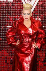 Christina Aguilera At Virgin Voyages x Gareth Pugh Event at the Royal Opera House in London