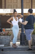Christina Milian At the Farmers Market in LA