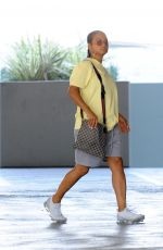 Christina Milian Looking casual as she heads to a business meeting in Studio City