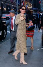 Cobie Smulders Arriving at Good Morning America in NYC