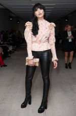 Daisy Lowe At Matty Bovan Fashion Show Front Row in London