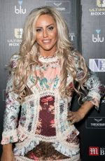 Danielle Mason Attends the Ultimate Boxxer 5 at Indigo at The O2 in London