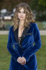 Debby Ryan At Elie Saab Fashion Show in Paris