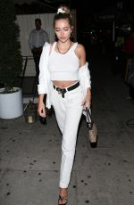 Delilah Belle Hamlin Exits The Nice Guy restaurant in West Hollywood