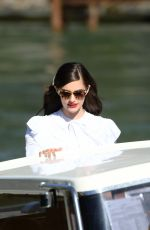 Diana Silvers Arriving at the 76th Venice Film Festival in Venice, Italy