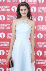 Diana Silvers At Miu Miu Photocall at 76th Venice Film Festival