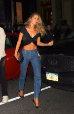 Doutzen Kroes Out in New York City