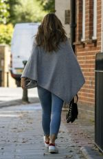Elizabeth Hurley Out in London