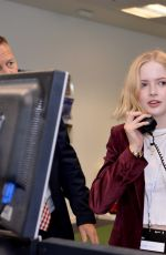 Ellie Bamber At Wellbeing of Women GFI Charity Day in London