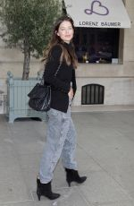 Emily DiDonato Seen out and about in Paris