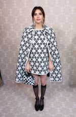 Emma Roberts At Kate Spade Fashion Show during NYFW in New York